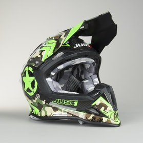 Kask cross Just1 J12 Kombat Zielony