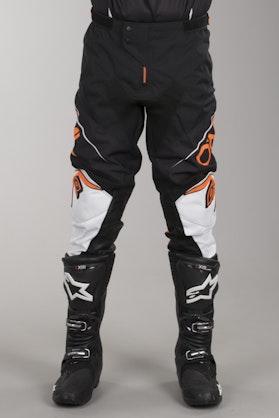 Crossové Kalhoty O'Neal Mayhem Lite Blocker Černá-Bílá-Oranžová