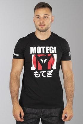 T-Shirt Dainese Motegi D1 Czarny