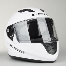 Kask LS2 FF320 Stream Solid Biały