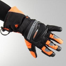 Rukavice On Board Artic Pro Černo-Neonově Oranžové