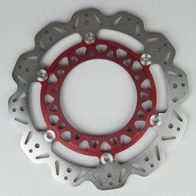 EBC Front Brake Vee Rotor - Red