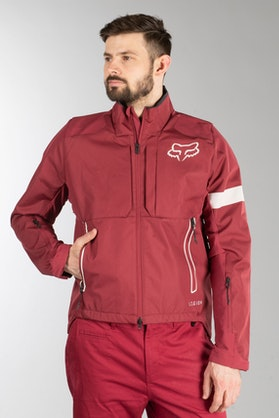 Fox Legion Jacket Dark Red