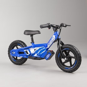 Amped A10 Electronic Balance Bike Blue