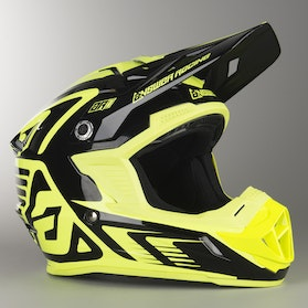 Kask Cross Answer AR1 Edge Czarno-Hyper Acid