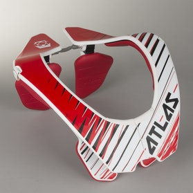 Atlas Air Neck Protector Red