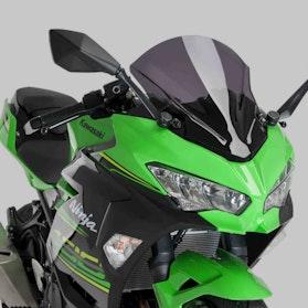 Owiewka Puig Racing Kawasaki Ciemna Przydymiona