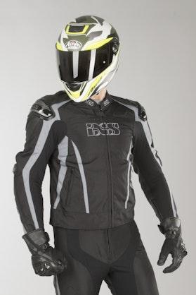 IXS Sport LT RS-1000 Jacket Black-Grey