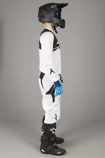 Alias A2 Tech Vented MX Clothing Kit White