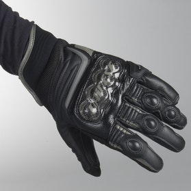 Rękawice Dainese Carbon D1 Krótkie Damskie Czarne