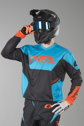 Bluza Cross O'Neal Element Racewear Niebieska