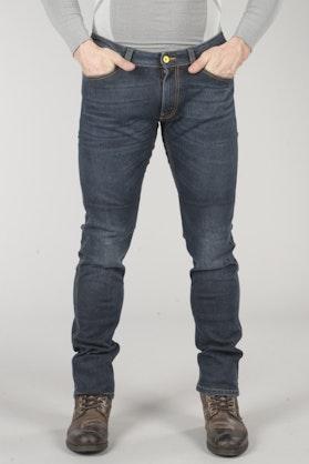 Spodnie Spidi Qualifier Slim Fit Niebieskie Vintage 3D