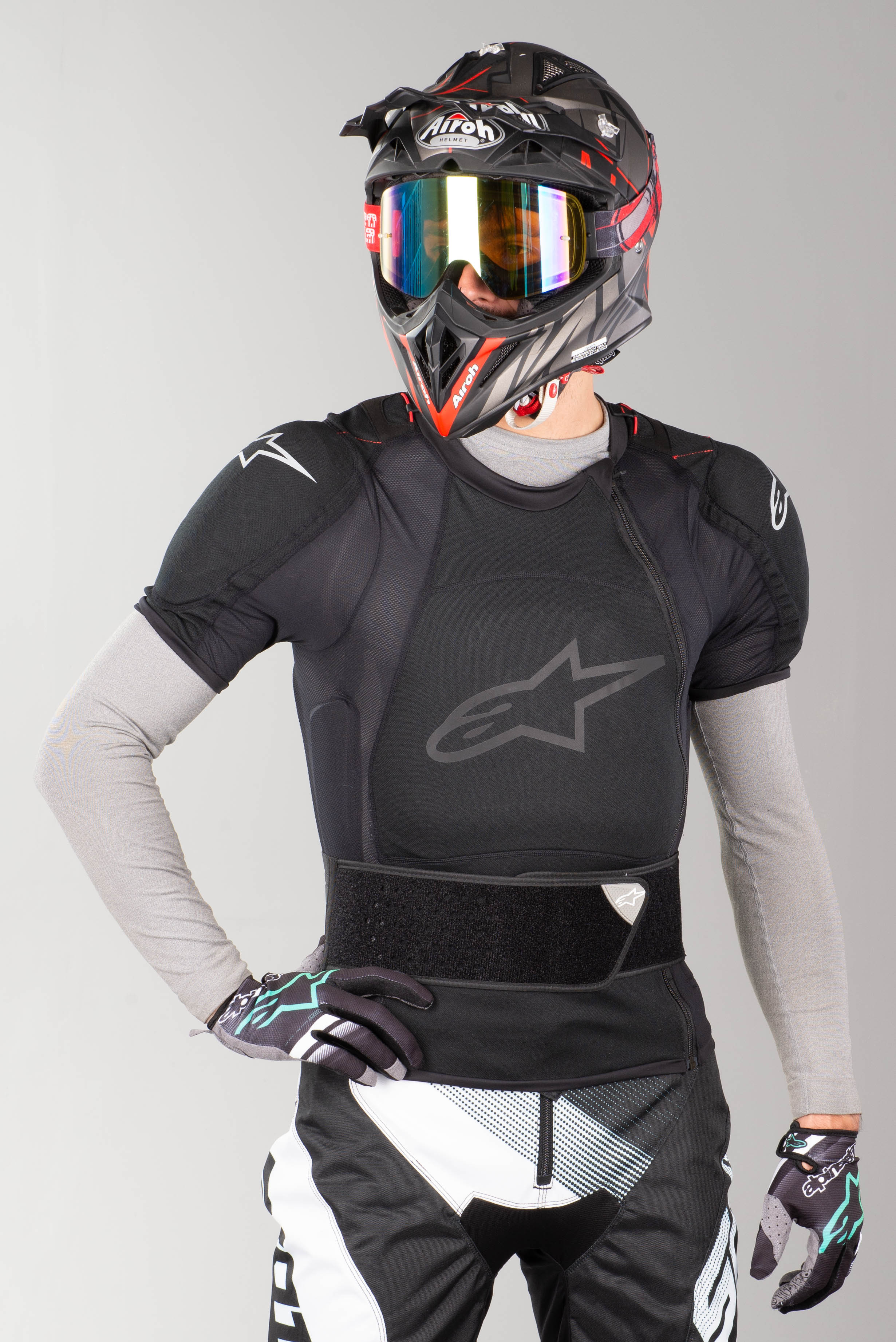 NEW ALPINESTARS SEQUENCE PRO MOTO DIRT BIKE PROTECTION SHORTS ALL SIZES