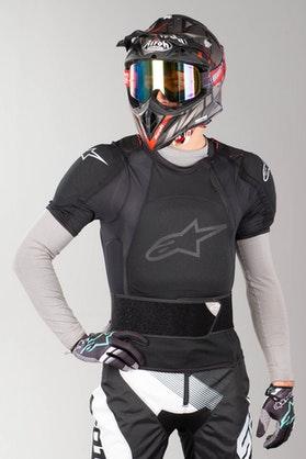 Alpinestars Sequence Protection Jacket Short Sleeve Black