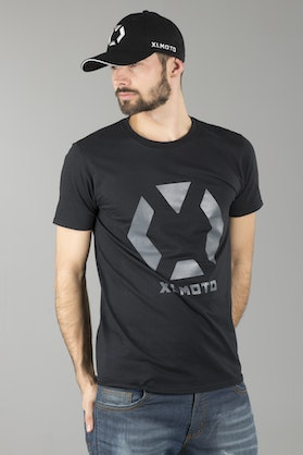 XLmoto T-Shirt Black-Grey