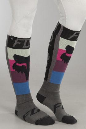 Ponožky Fox Coolmax Thin - Draftr Tmavě Šedé