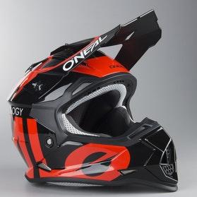 Motokrosová Helma Dětský Model O'Neal 2-Series Slick Černá-Oranžová
