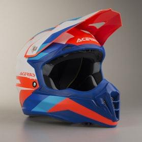 Acerbis Impact 3.0 Helmet White-Blue