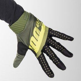 Crosshandsker 100% Ridefit, Grøn/Neonlime