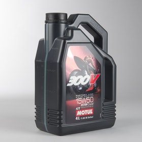 Olej W pełni syntetyczny Motul 300V 4T 4L