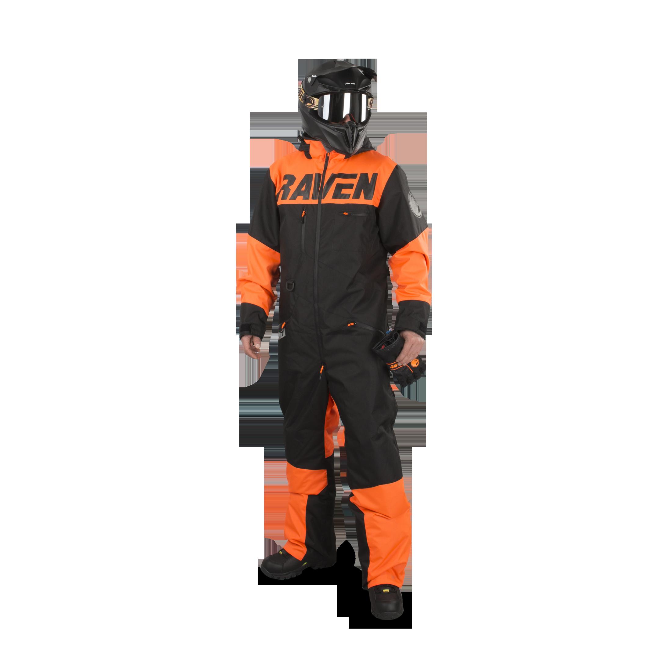 Raven Overall Raven Frontline Monosuit Orange