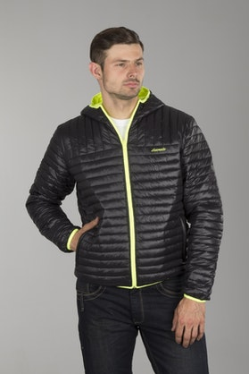 Airoh Jacket Black & Yellow