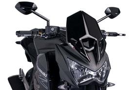 Owiewka Puig New Generation Kawasaki  Z800 Czarna