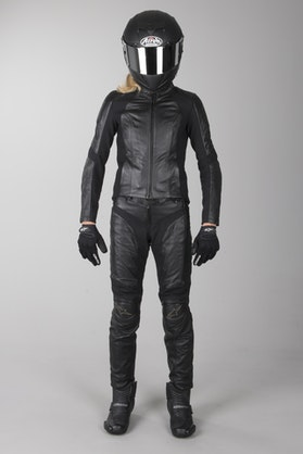 Alpinestars Ladies Vika 2-Piece Leathers Black