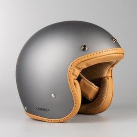 Hjelm DMD Leather Pillow Matgrå-Brun