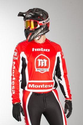 Bluza Hebo Montesa Classic III Czerwona