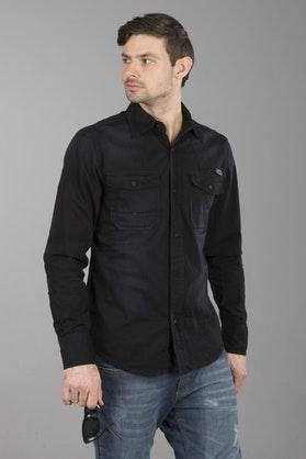 Brandit Denimshirt Hardee - Black