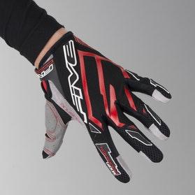 Motokrosové rukavice Five MXF Pro Rider- Červená