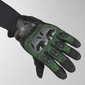 IXS Tour LT Montevideo Air Gloves Black-Green