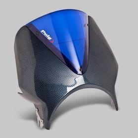Owiewka Puig Vision Honda Karbon-Niebieska