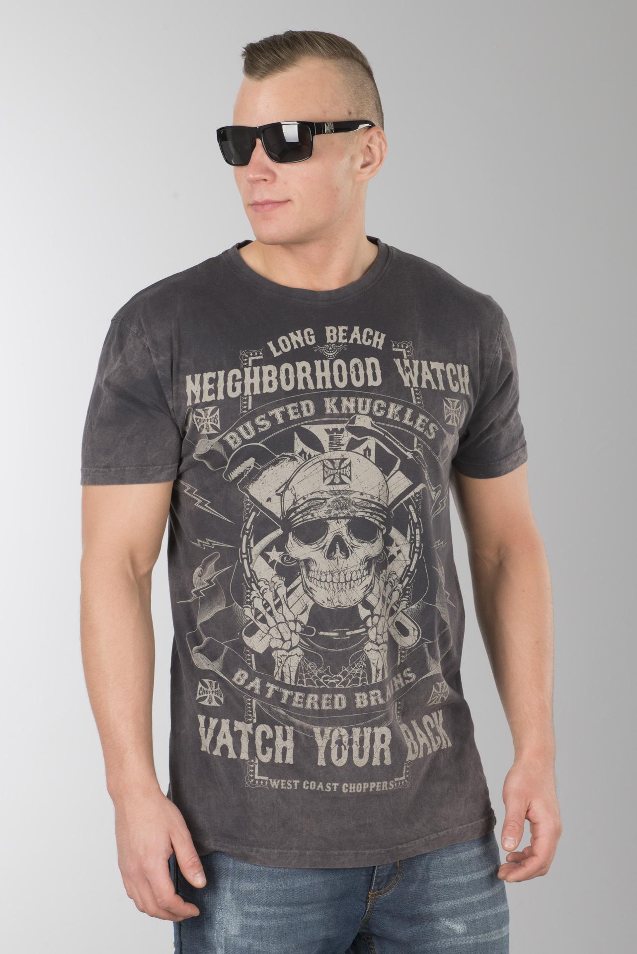 West Coast Choppers Men Short-Sleeve Shirt Chief