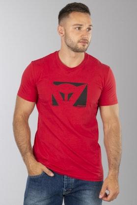 T-Shirt Dainese Kolor Czerwony