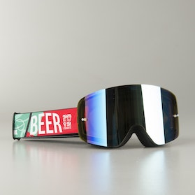 "Raven Edge ""Beer"" MX Goggles Golden Mirror"