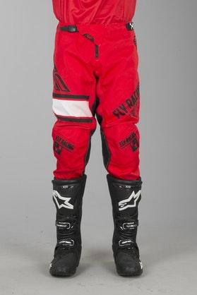FLY Kinetic ERA Cross-Trousers Red-Black