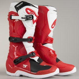 Alpinestars Tech 3 Boots Red-White