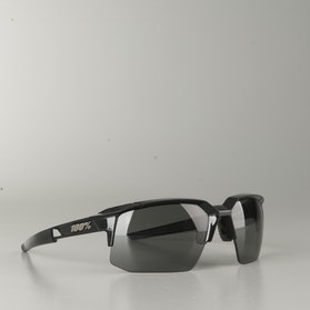 100% Speedcoupe Glasses Polished Black