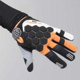 Rękawice Cross Dziecięce On Board Kid Kx-3 Czarno-Pomarańczowo-Białe
