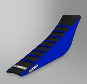 Enjoy Ribbed Seat Cover Blue-Black
