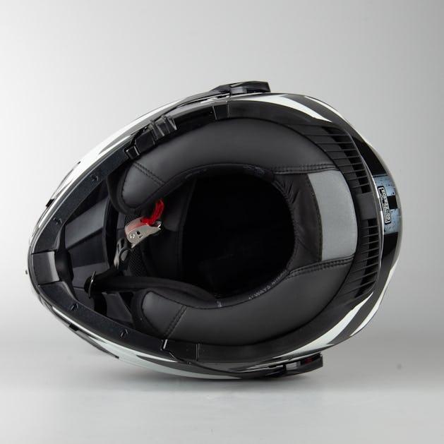 Kask Adventure LS2 FF324 Metro Evo P/J Sub Modułowy Biało-Czarny