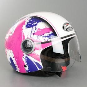Helma Airoh Compact Fun Růžová Lesklá