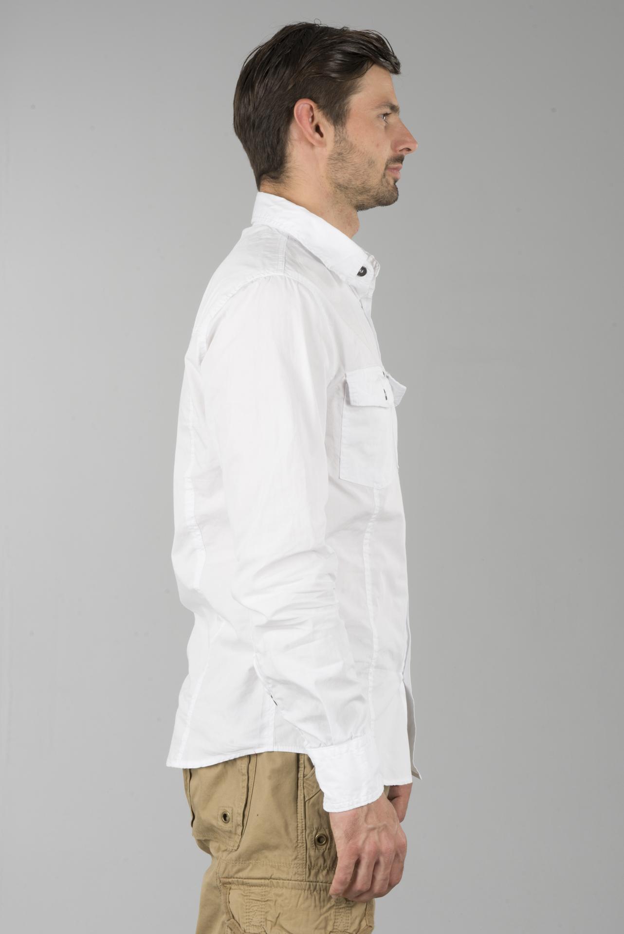 Skjorte Brandit Slim men Hvit Nå 12% Du sparer sledstore.no