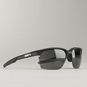 Sportcoupe Soft Tact Black w/ Smoke Lens Glasses
