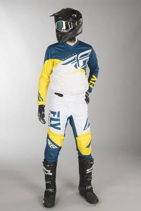 Fly F-16 MX Clothes Yellow-White-Navy