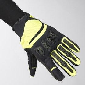 Rękawice Dainese Aerox Czarno-Neonowo-Żółte