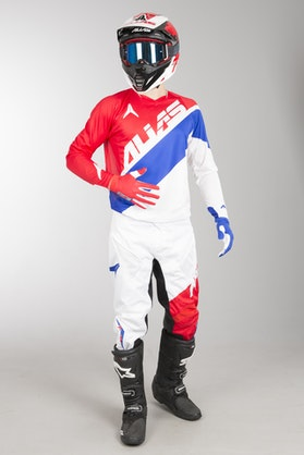 Alias A1 Floated MX Clothing Kit Red-Blue
