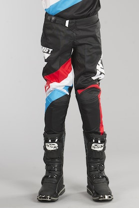 Shift Yth Whit3 Tarmac Kids MX Trousers Black MX 17
